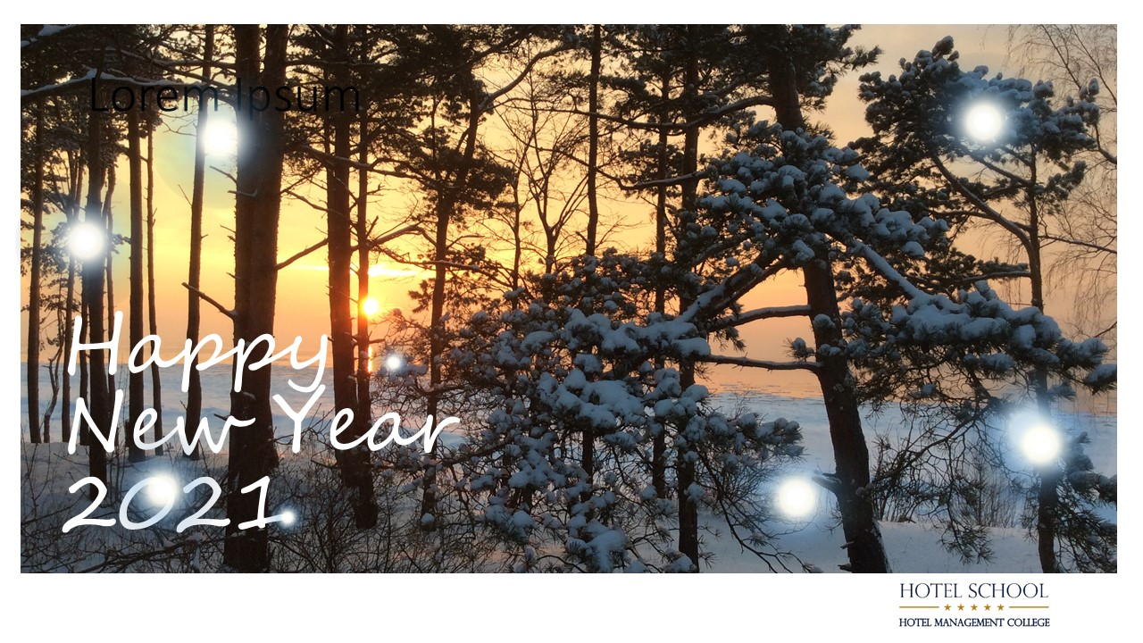 HS New Year Greetings